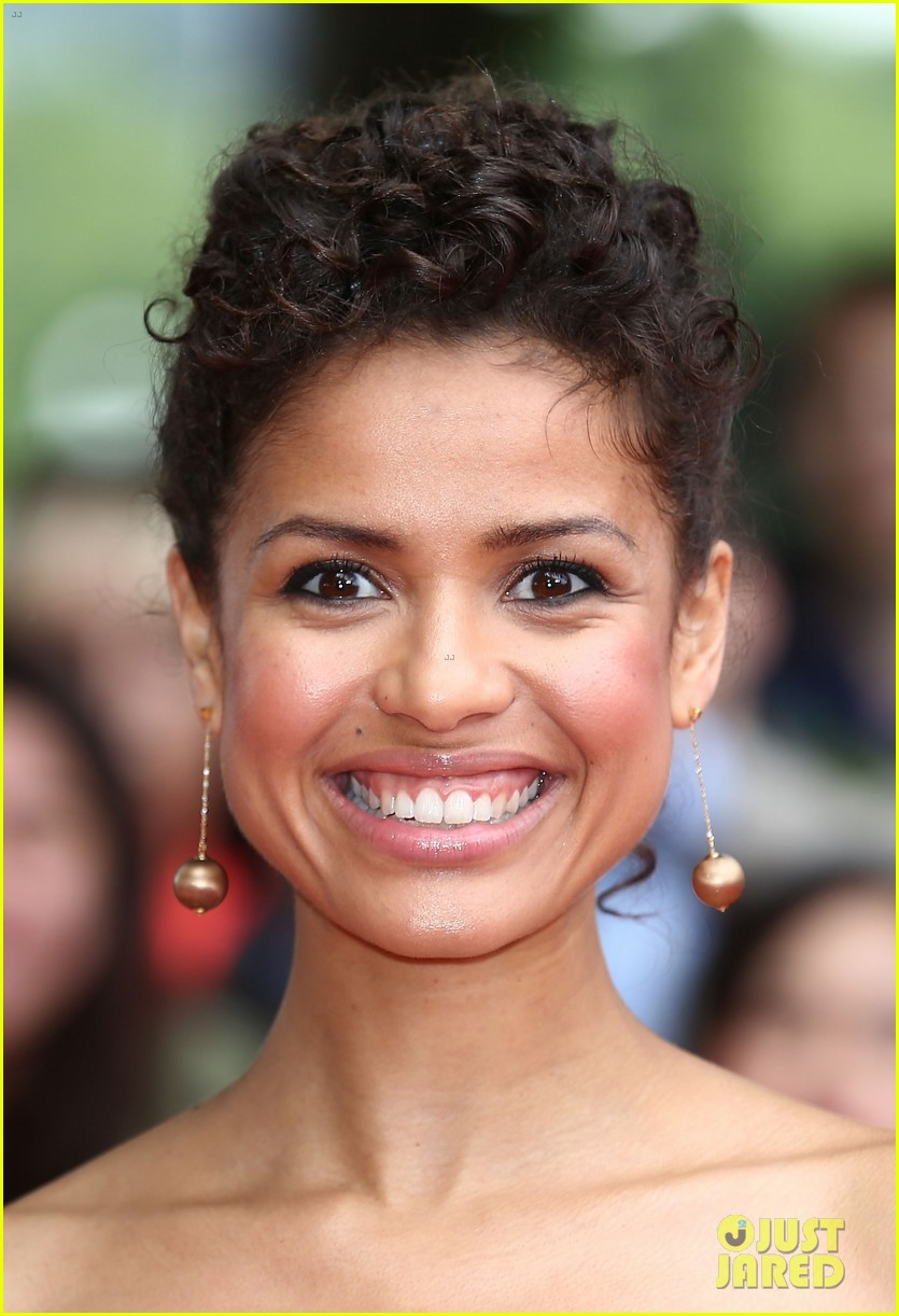 gugu mbatha raw beautiful belle of the ball in london 06