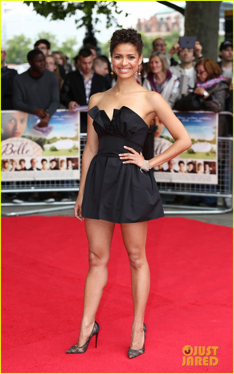 gugu mbatha raw beautiful belle of the ball in london 12