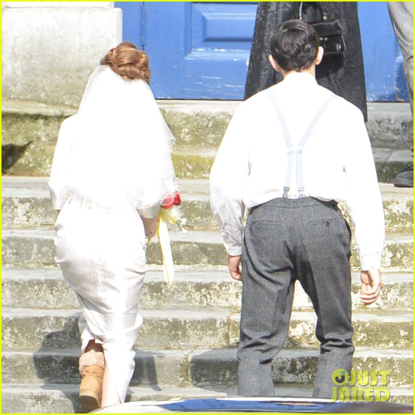 tom hardy emily browning get married for legend 183135301
