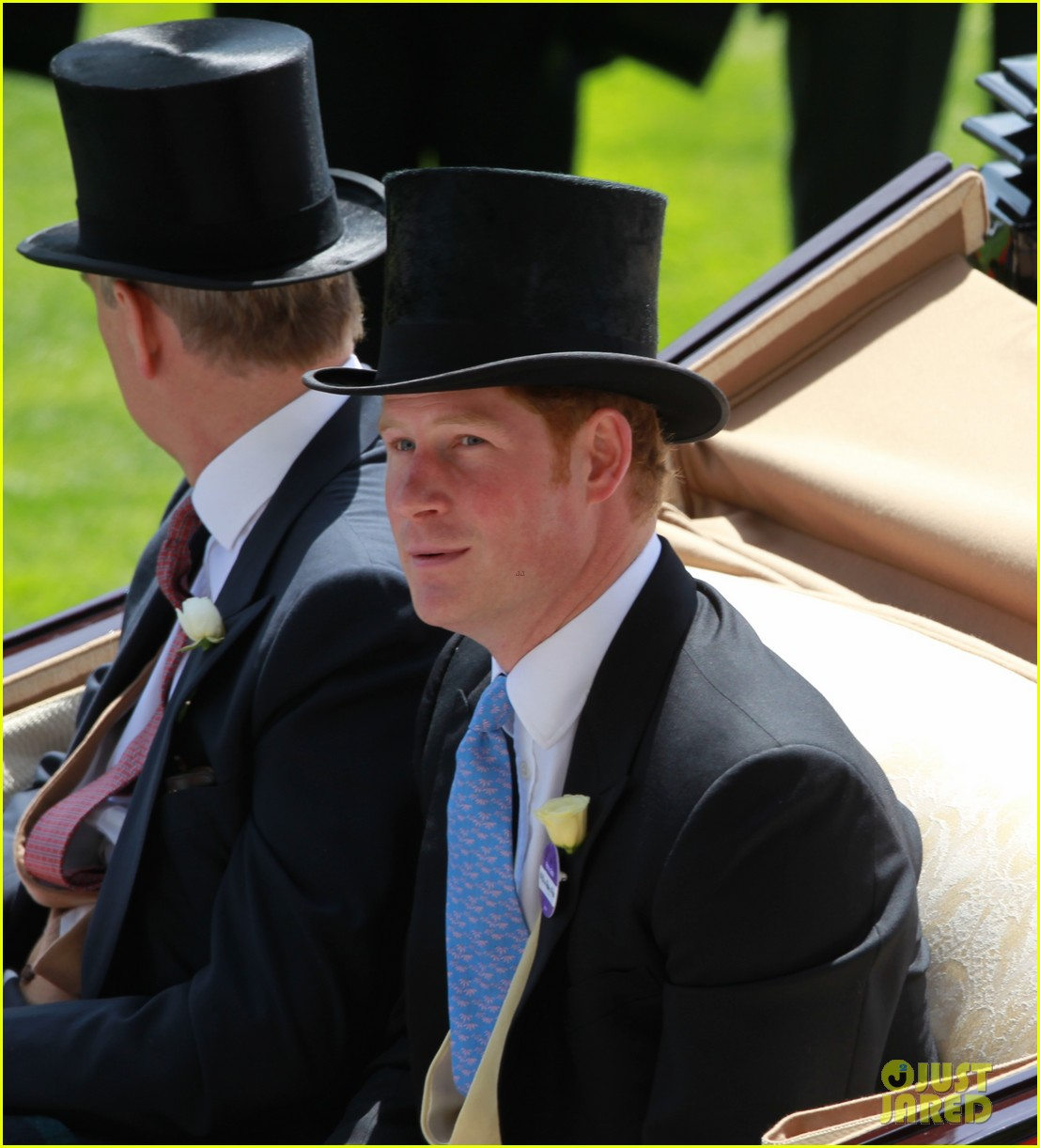prince harry looks top notch top hat 24
