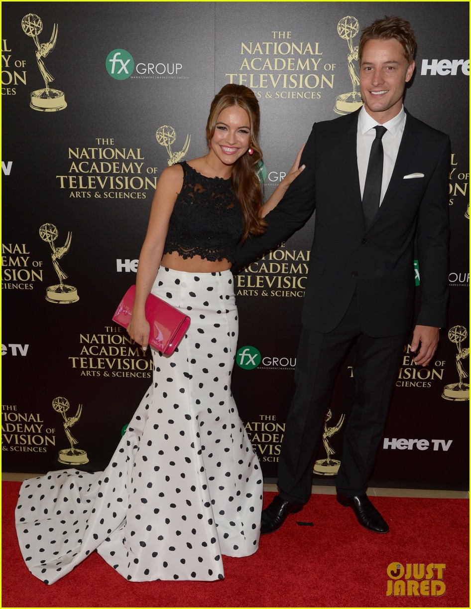 justin hartley chrishell strause daytime emmy awards 2014 013141938
