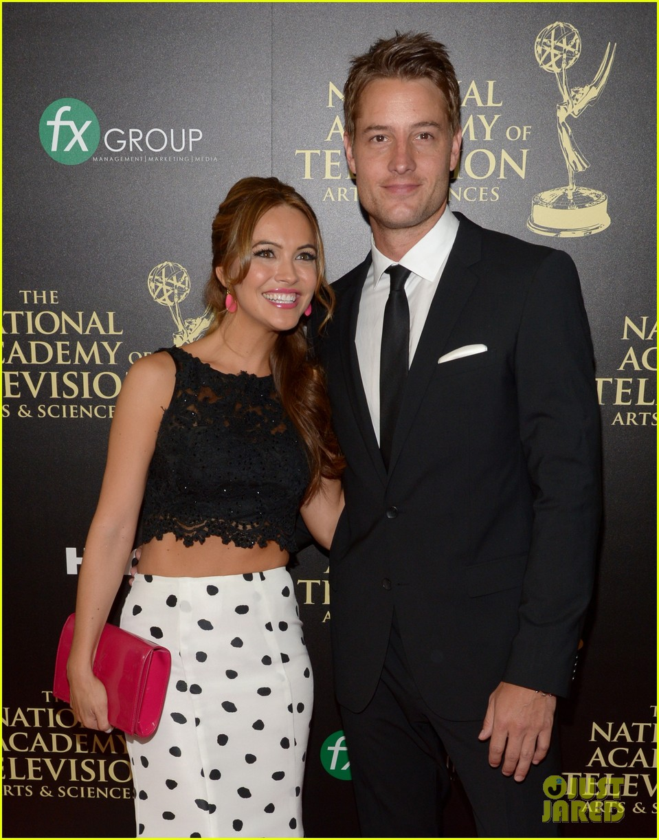 justin hartley chrishell strause daytime emmy awards 2014 10
