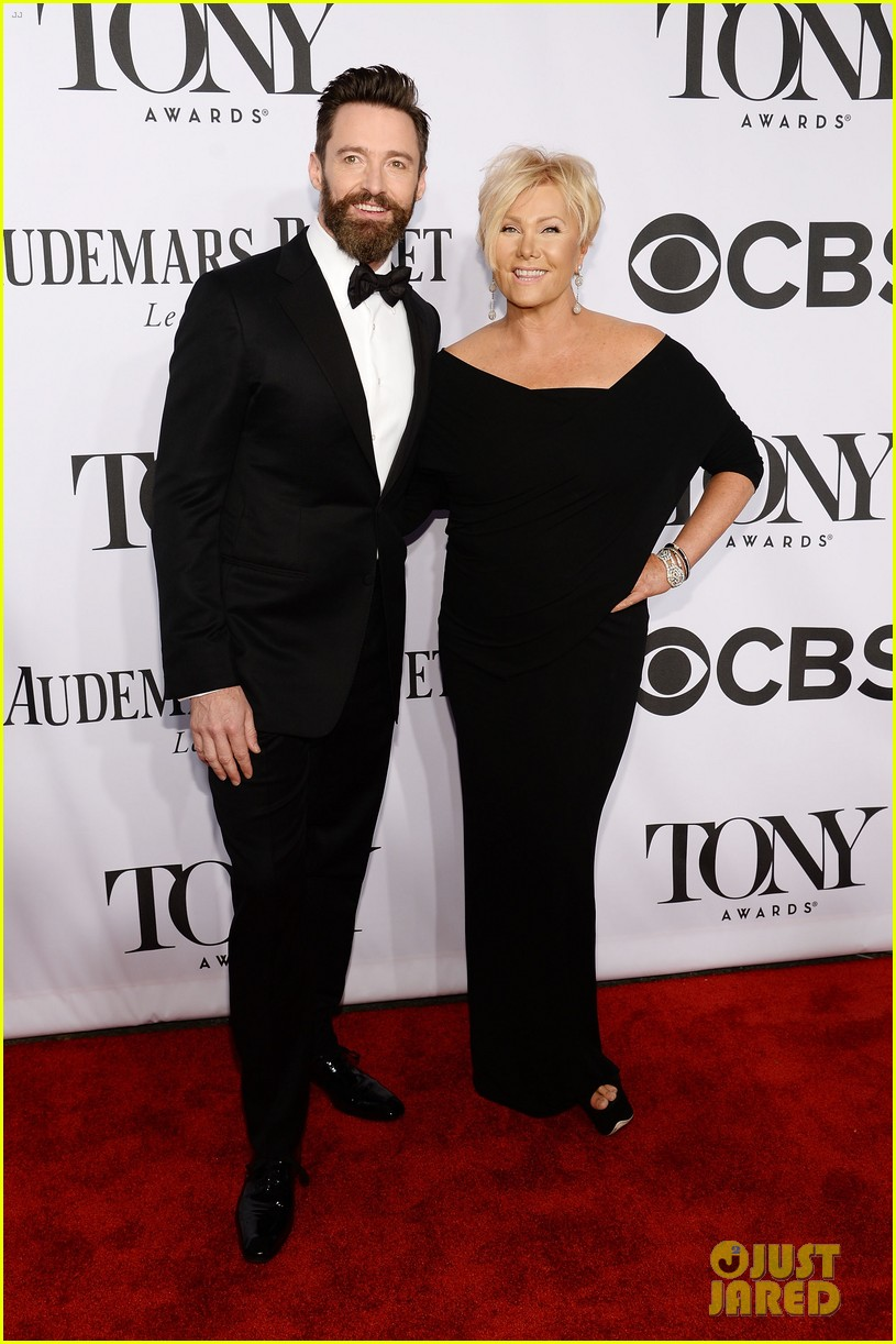 hugh jackman wife deborra lee furness tony awards 2014 073131140