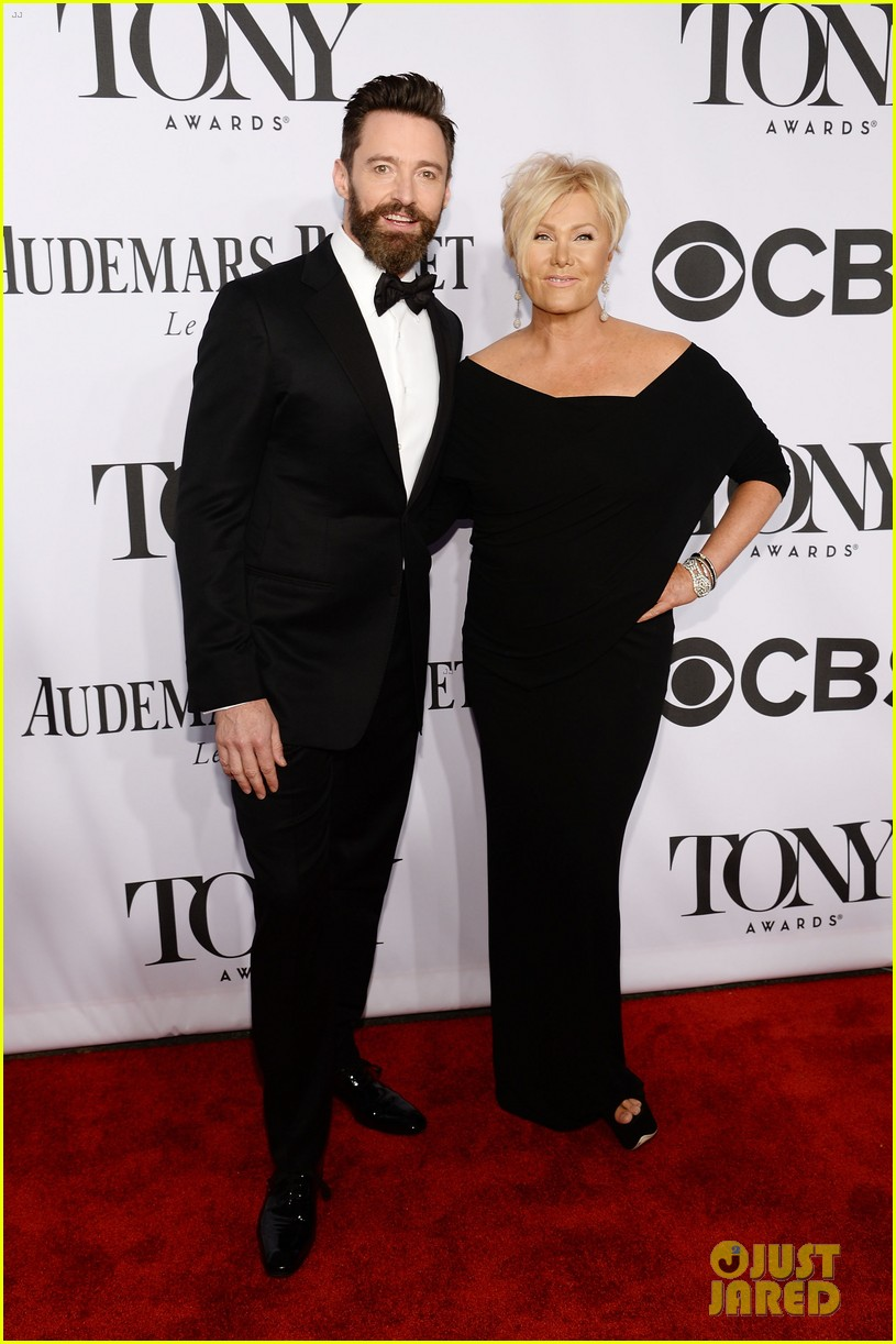 hugh jackman wife deborra lee furness tony awards 2014 083131141