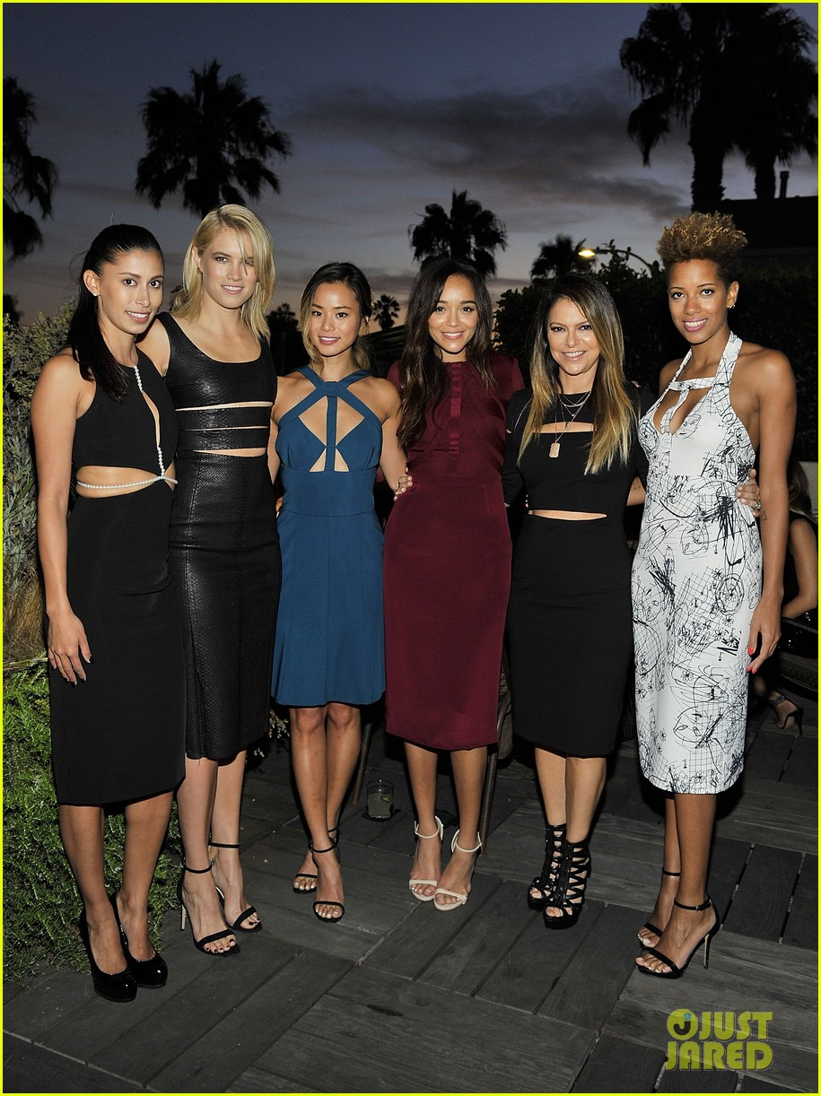 jamie chung ashley madekwe cushnie ochs party 09