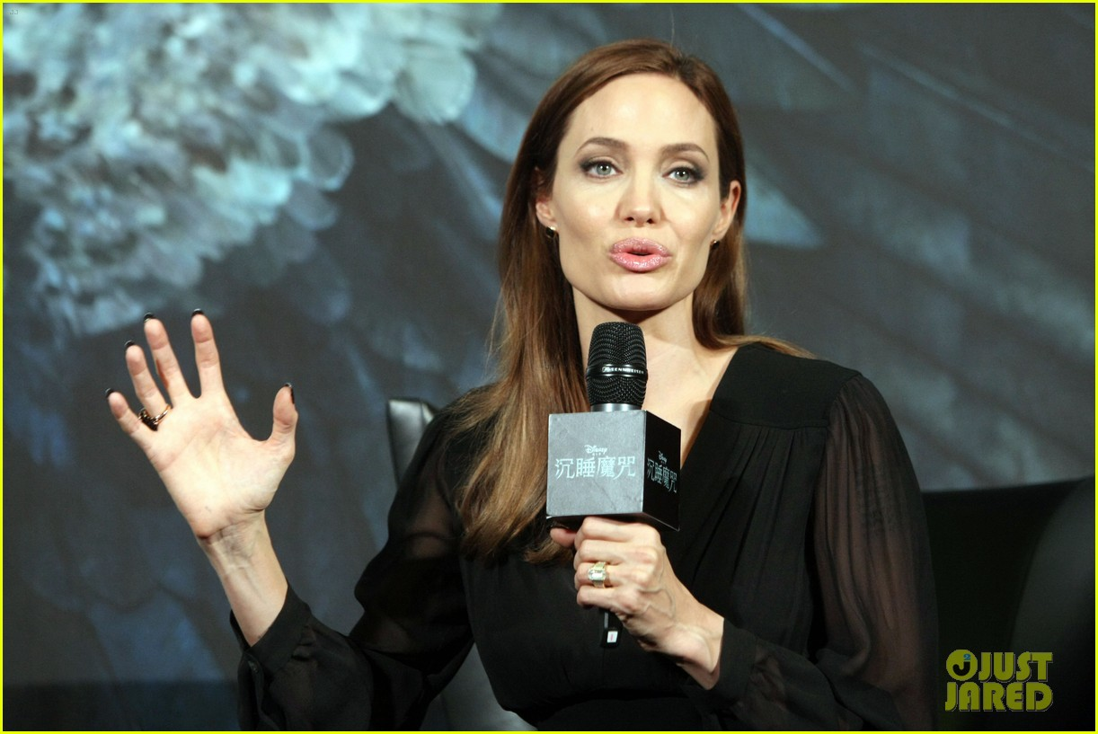 angelina jolie brings maleficent to china 11