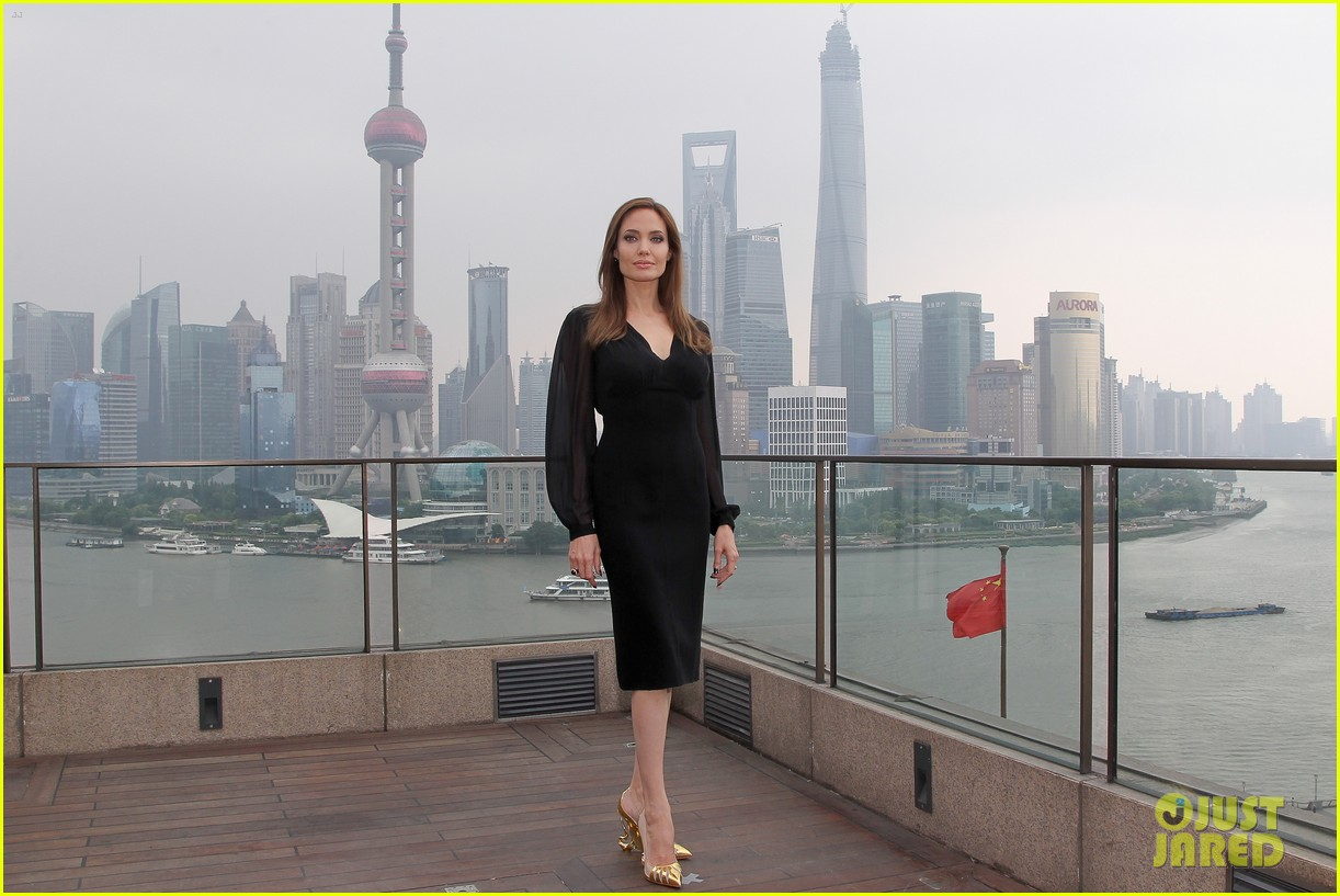 angelina jolie brings maleficent to china 17