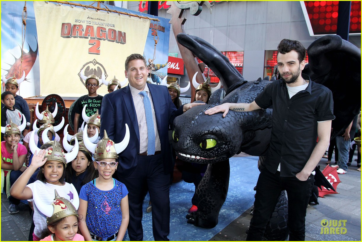 jonah hill jay baruchel kids for how to train your dragon 05