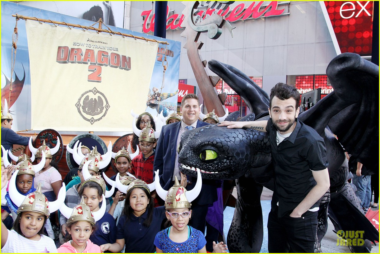 jonah hill jay baruchel kids for how to train your dragon 063130508
