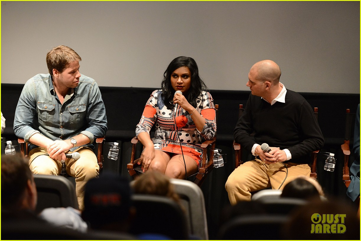 mindy kaling mindy project screening with the cast 02