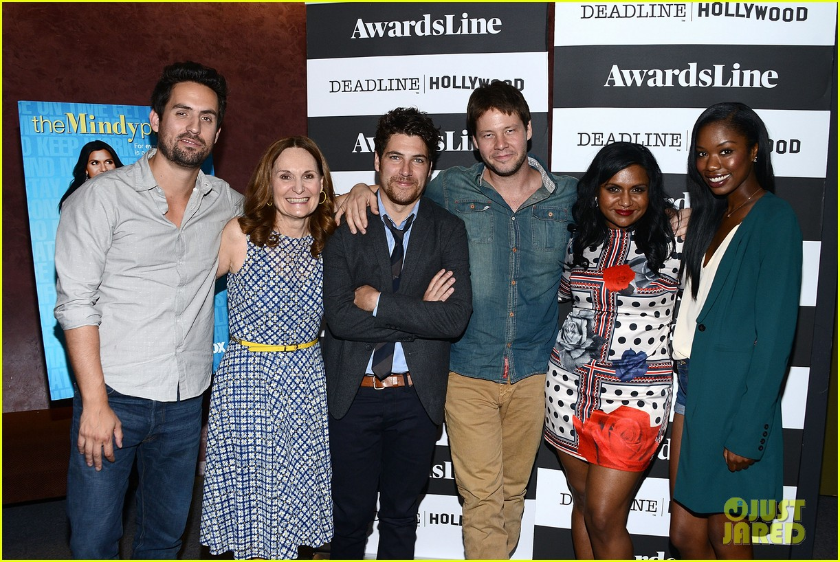 mindy kaling mindy project screening with the cast 053129612