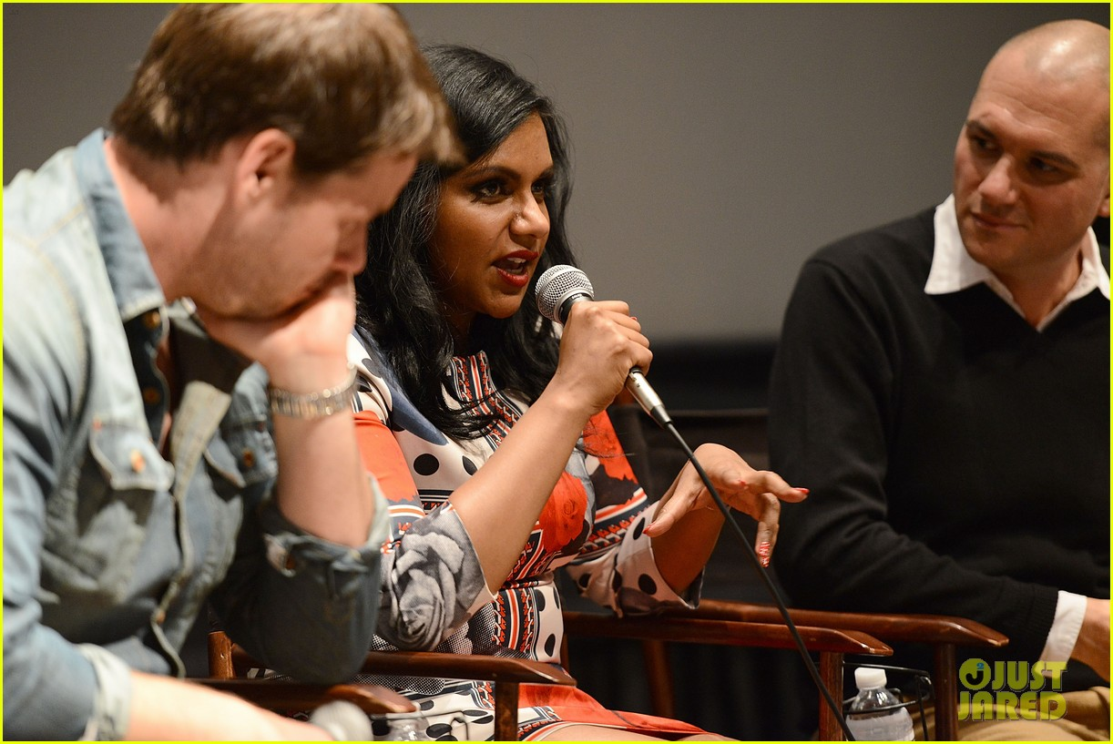 mindy kaling mindy project screening with the cast 06