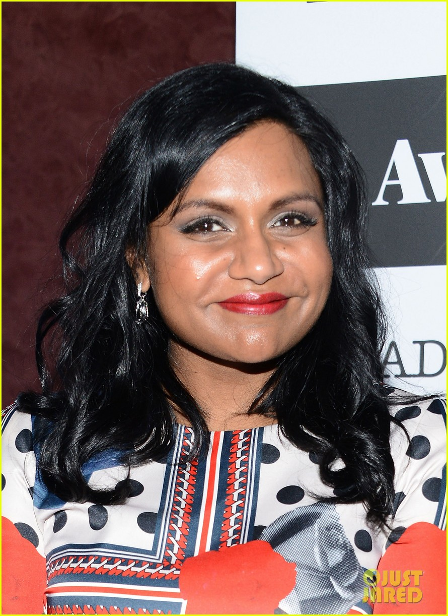 mindy kaling mindy project screening with the cast 11