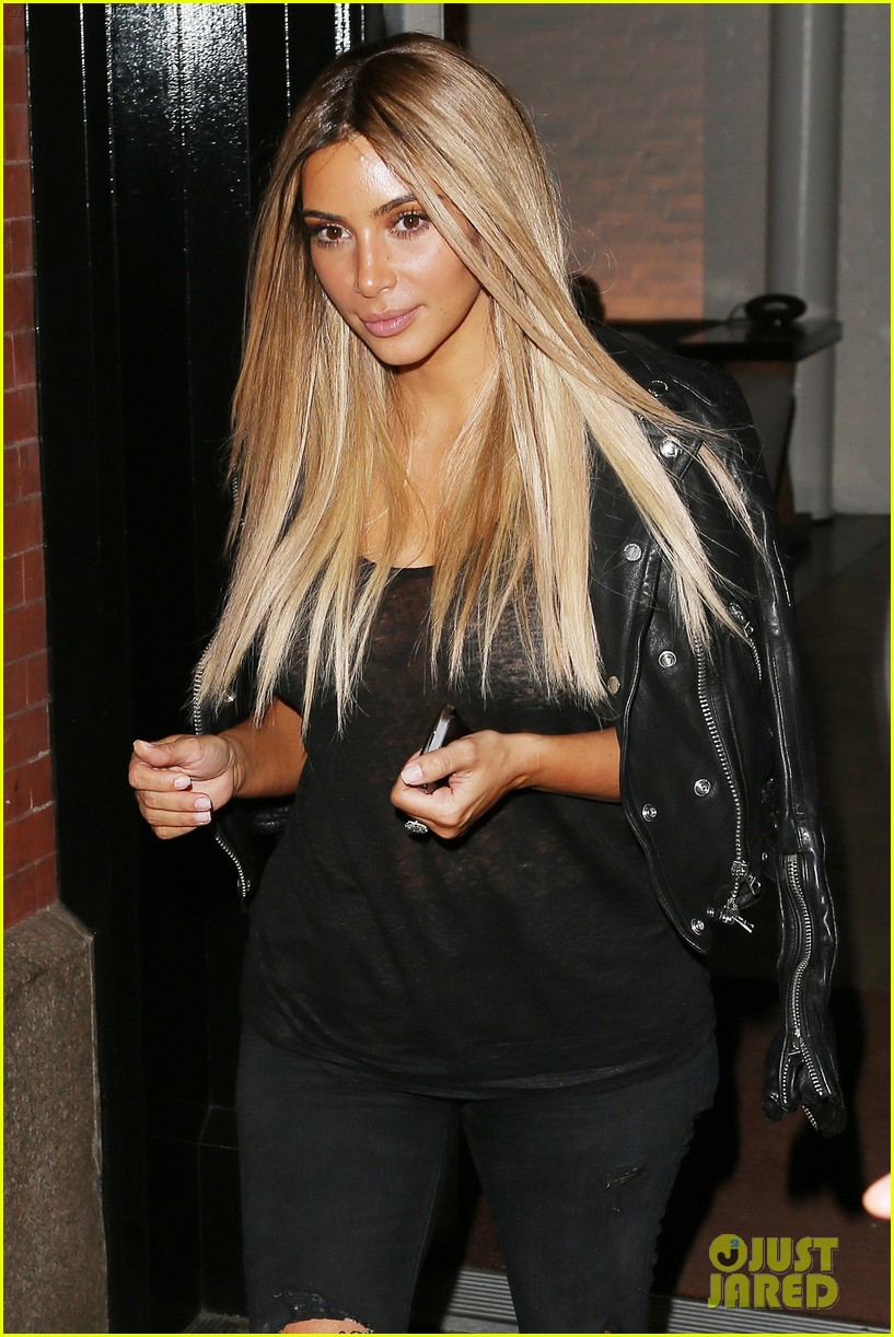 kim kardashian blonde hair wig 06