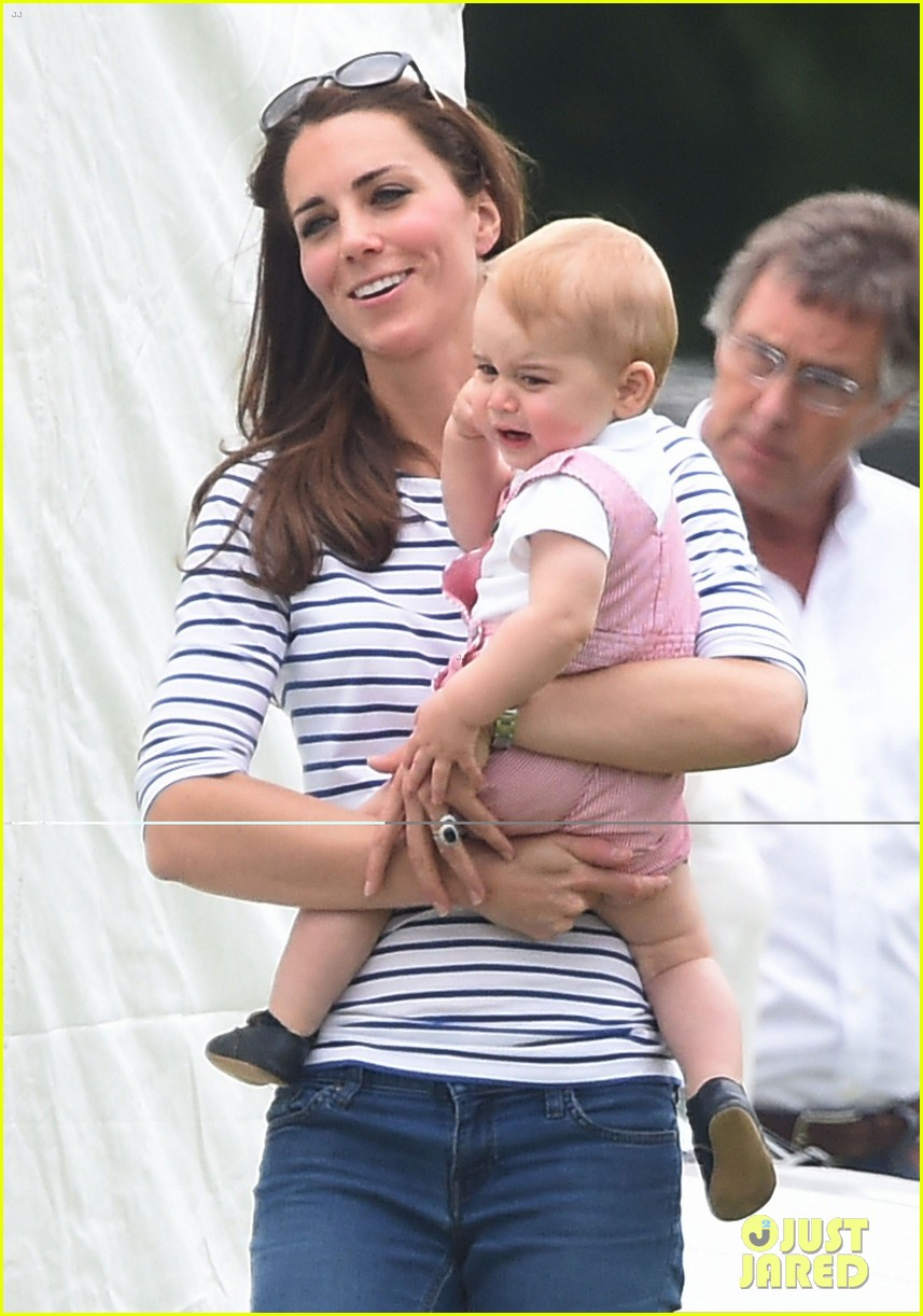 kate middleton prince george william polo match 073135934