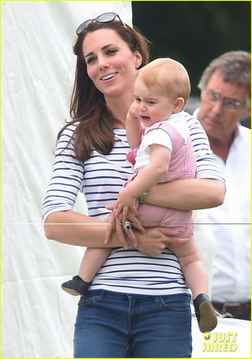 kate middleton prince george william polo match 11