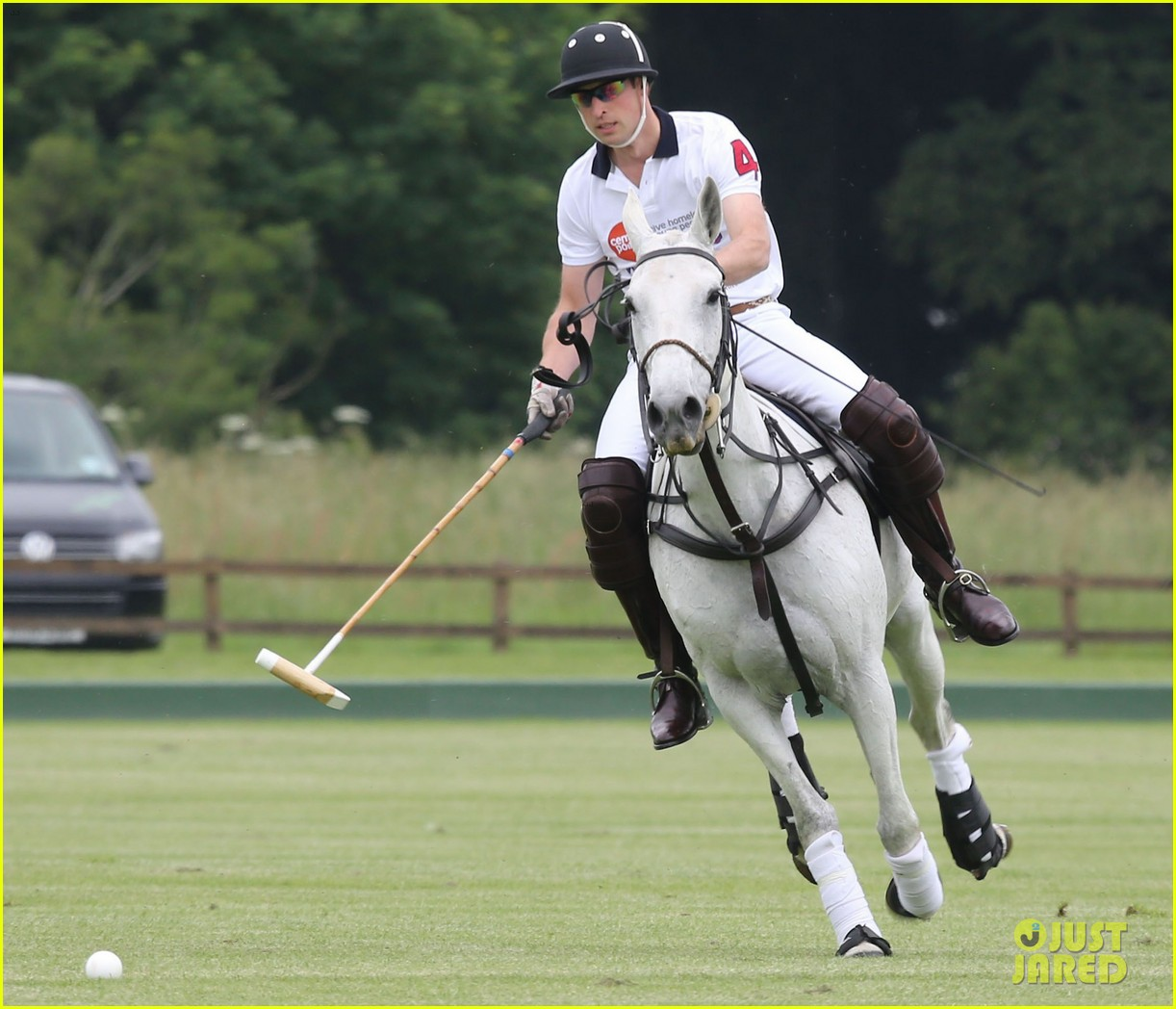 kate middleton prince george william polo match 31