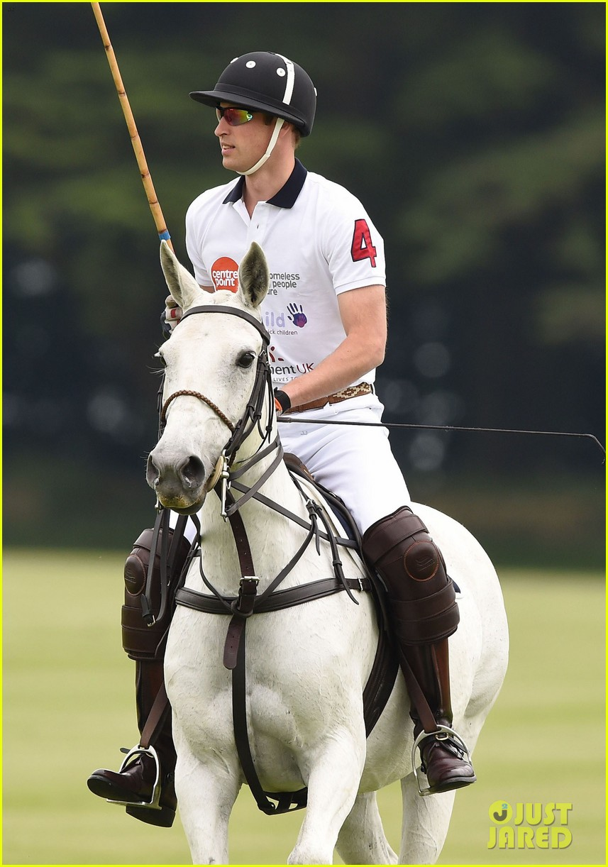 kate middleton prince george william polo match 383135965