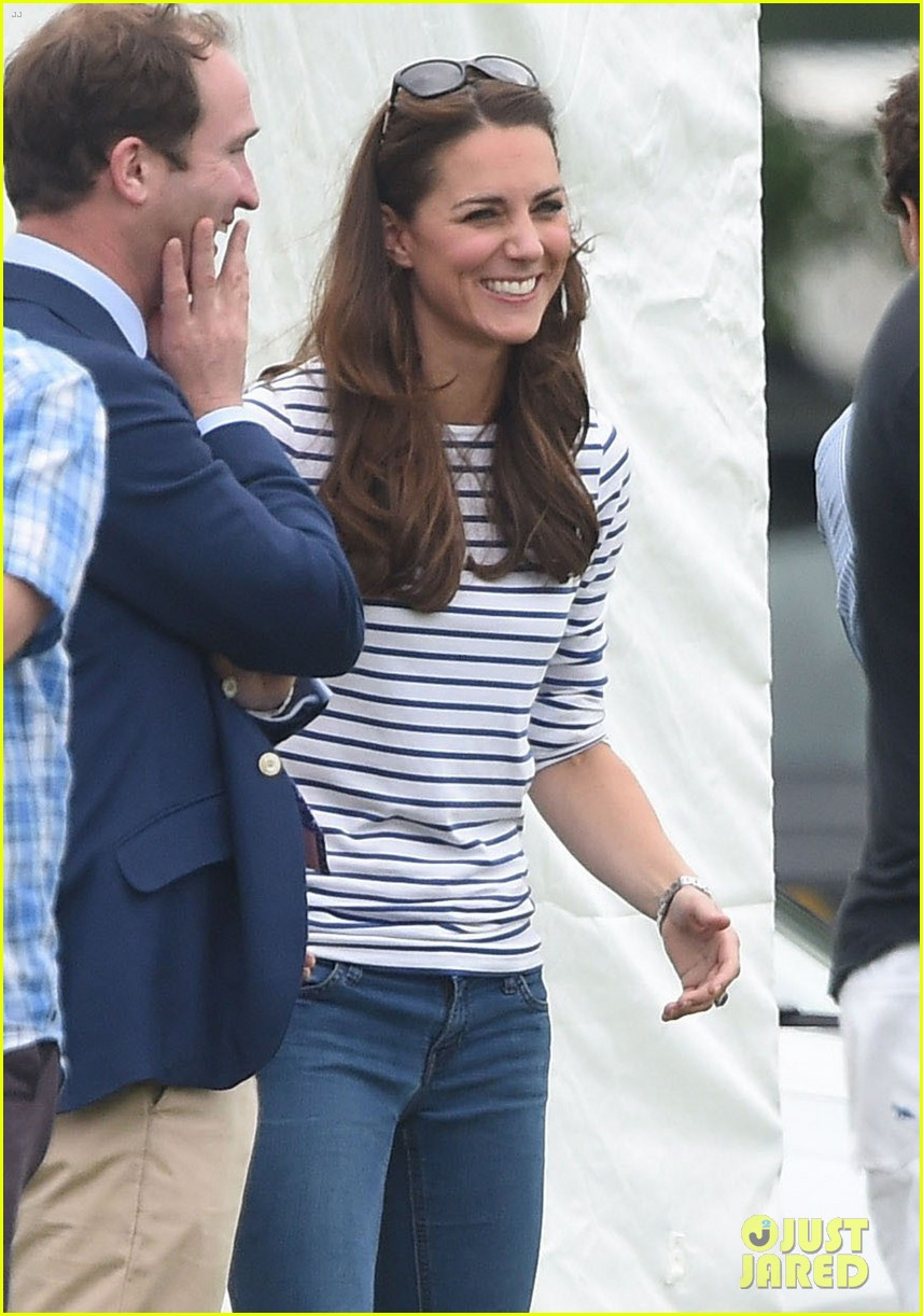 kate middleton prince george william polo match 47