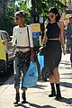 kylie jenner boating family kylie shopping willow smith 01
