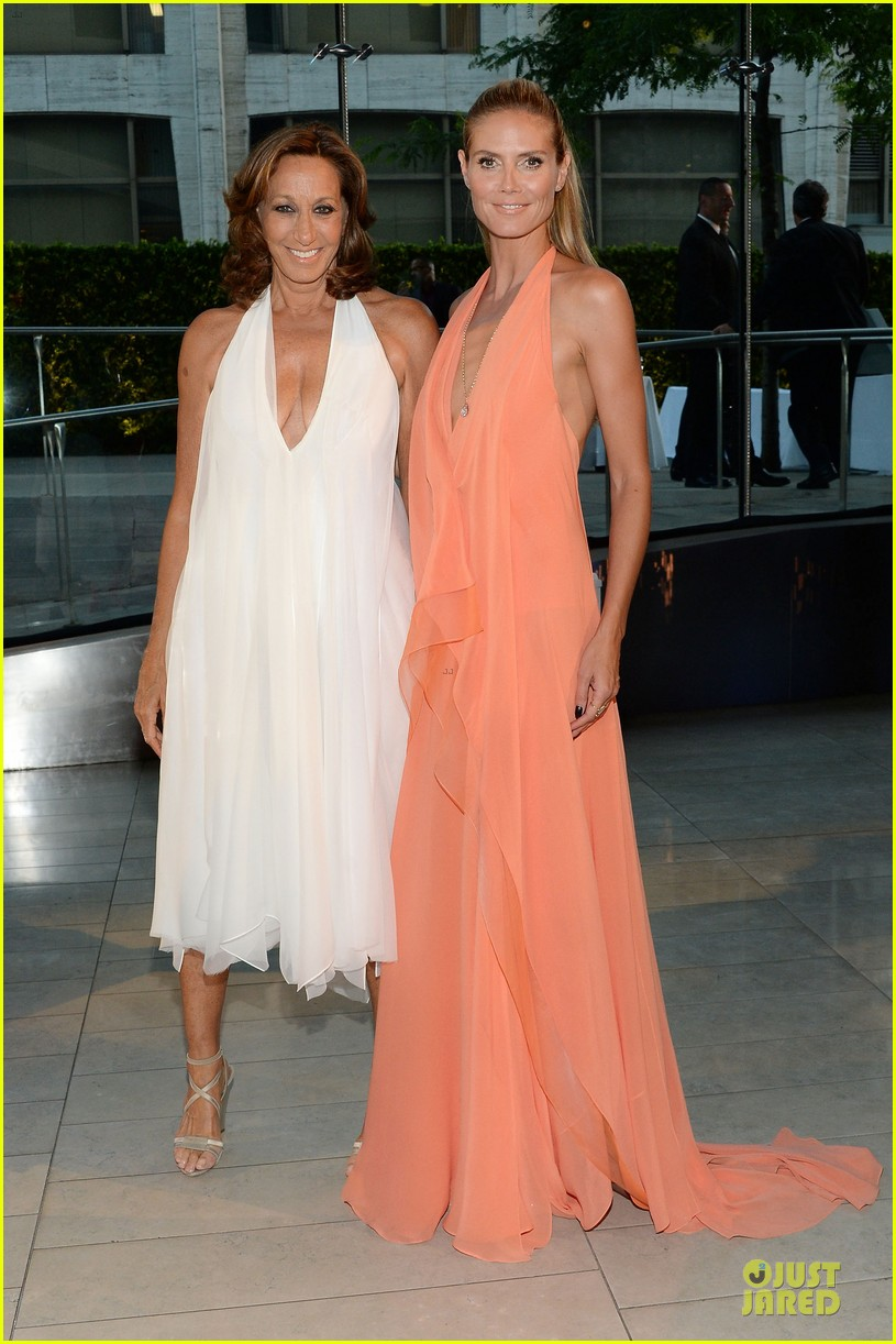 heidi klum alessandra ambrosio bright at cfda awards 2014 10