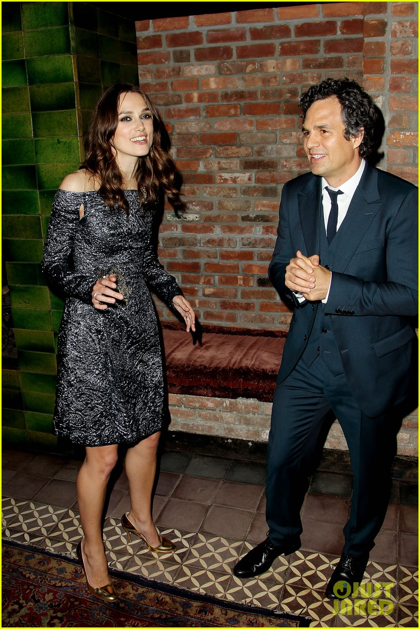 keira knightley mark ruffalo begin again after party 13