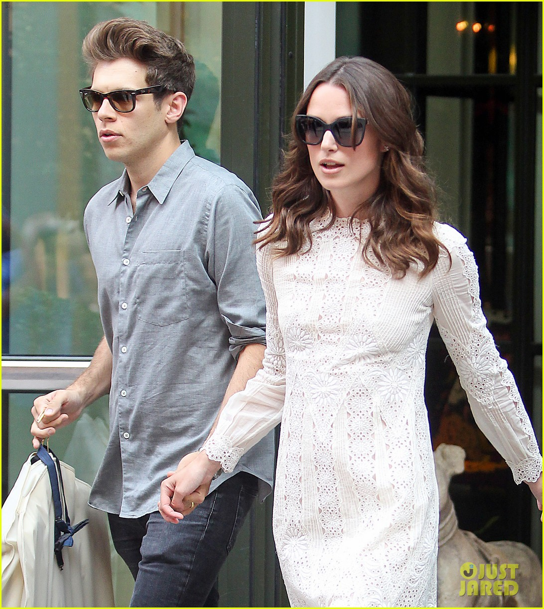 keira knightley james righton begin again premiere 213143413
