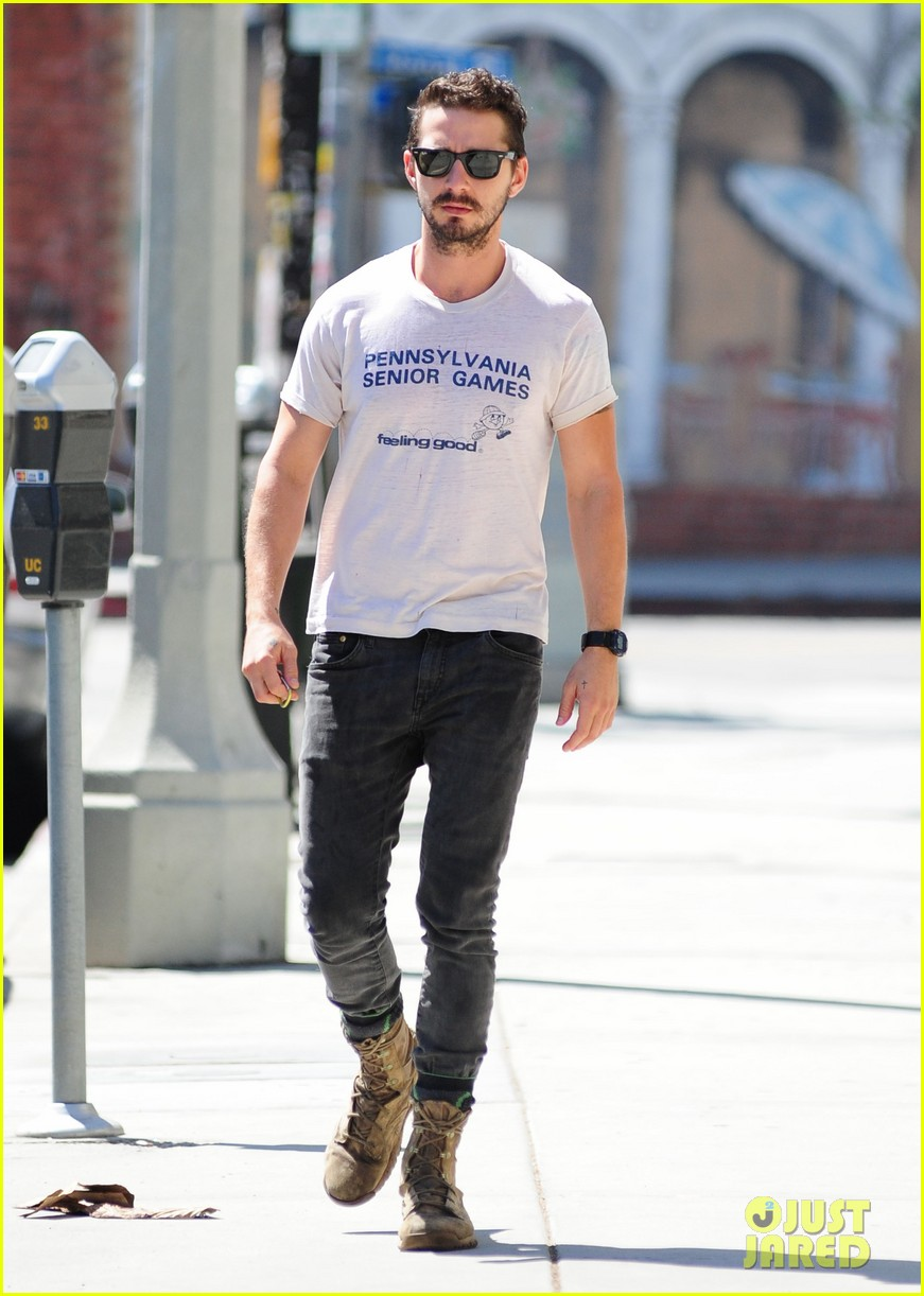 shia labeouf gym time vintage top 183140731
