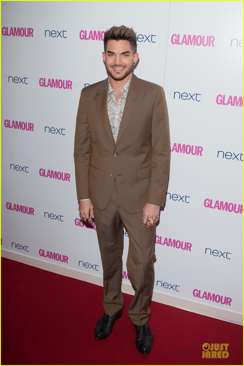 adam lambert luke evans presenters at glamour women of the year awards 01