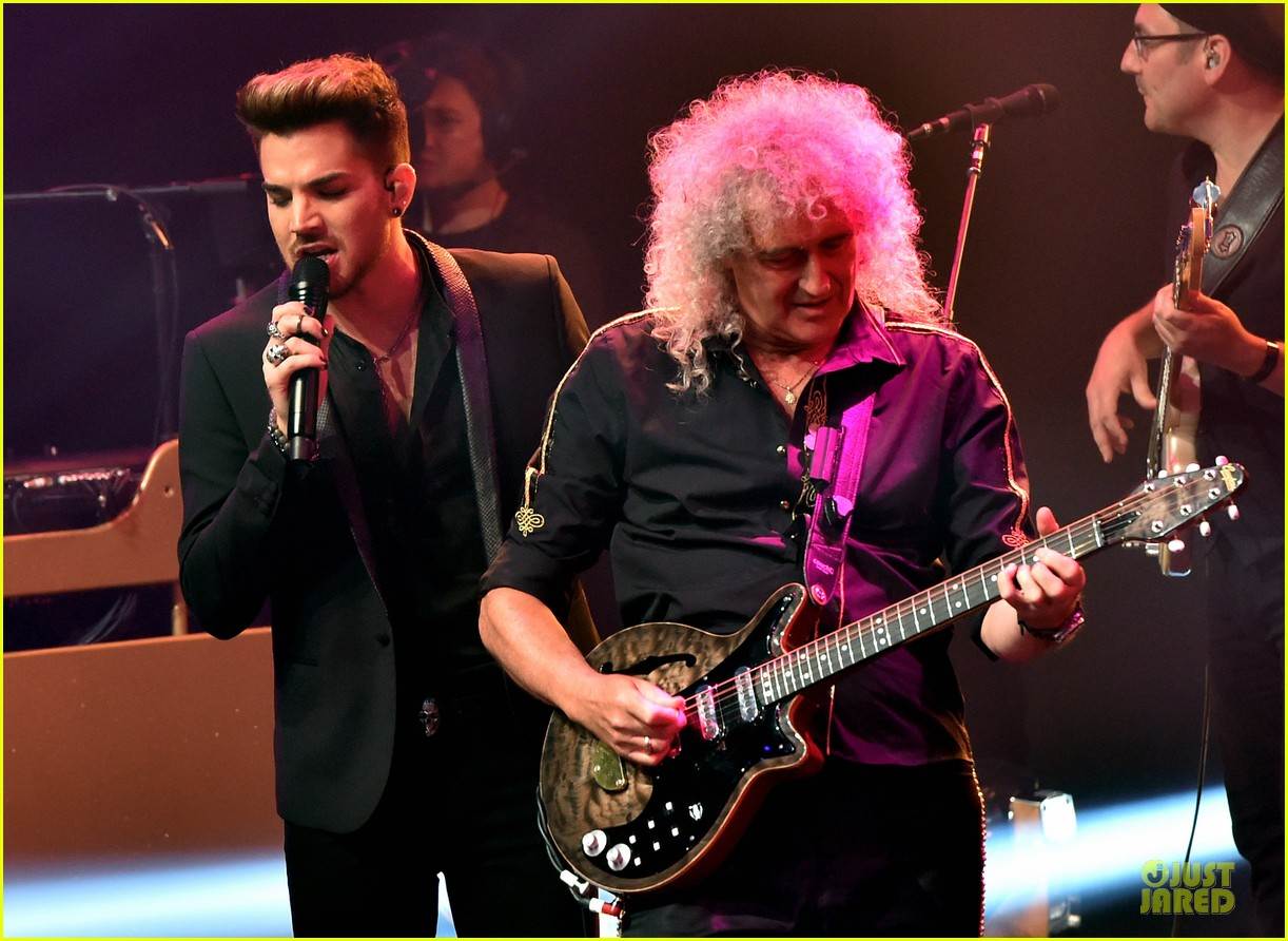 adam lambert queen tour at iheart radio theater 02