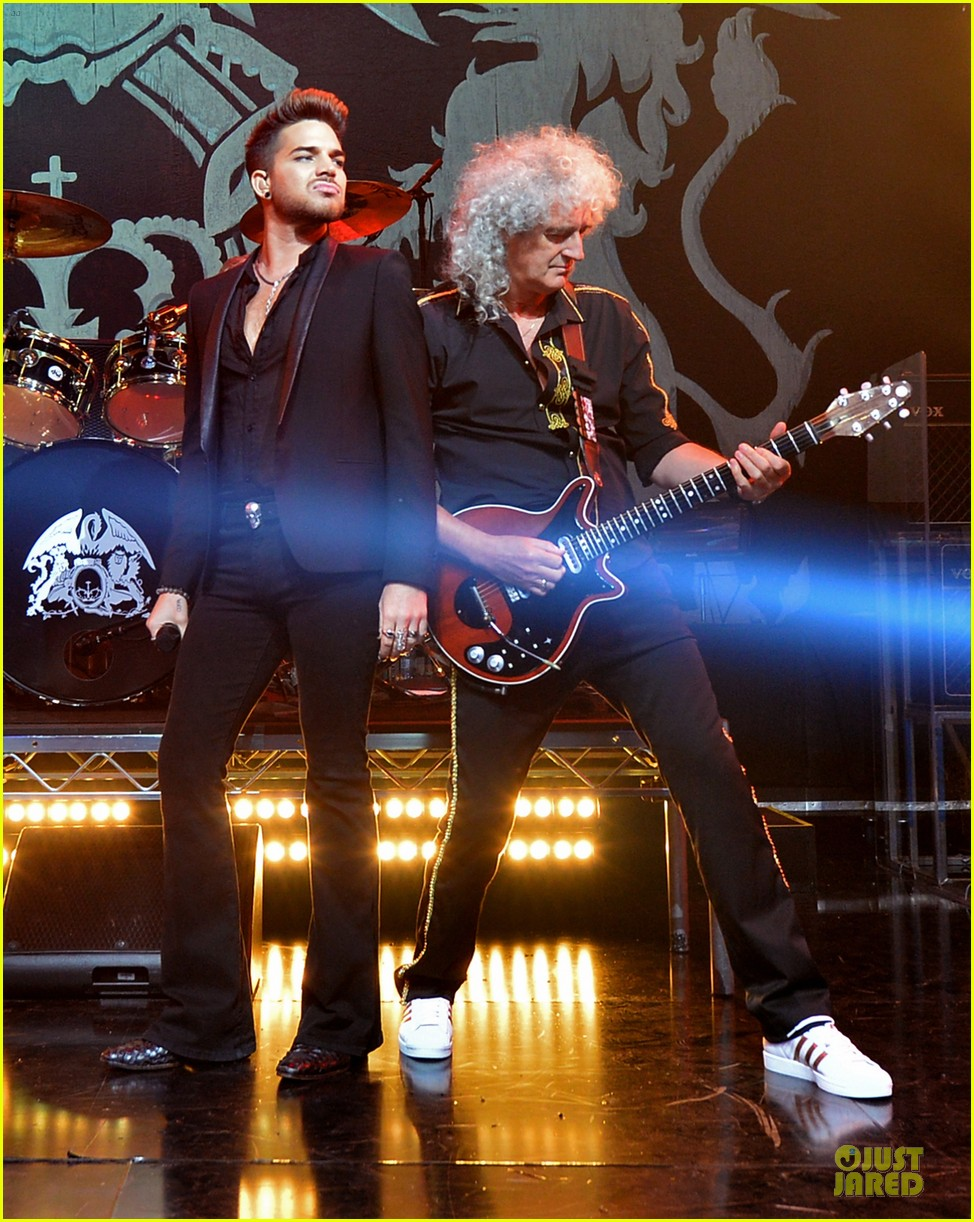 adam lambert queen tour at iheart radio theater 033136913