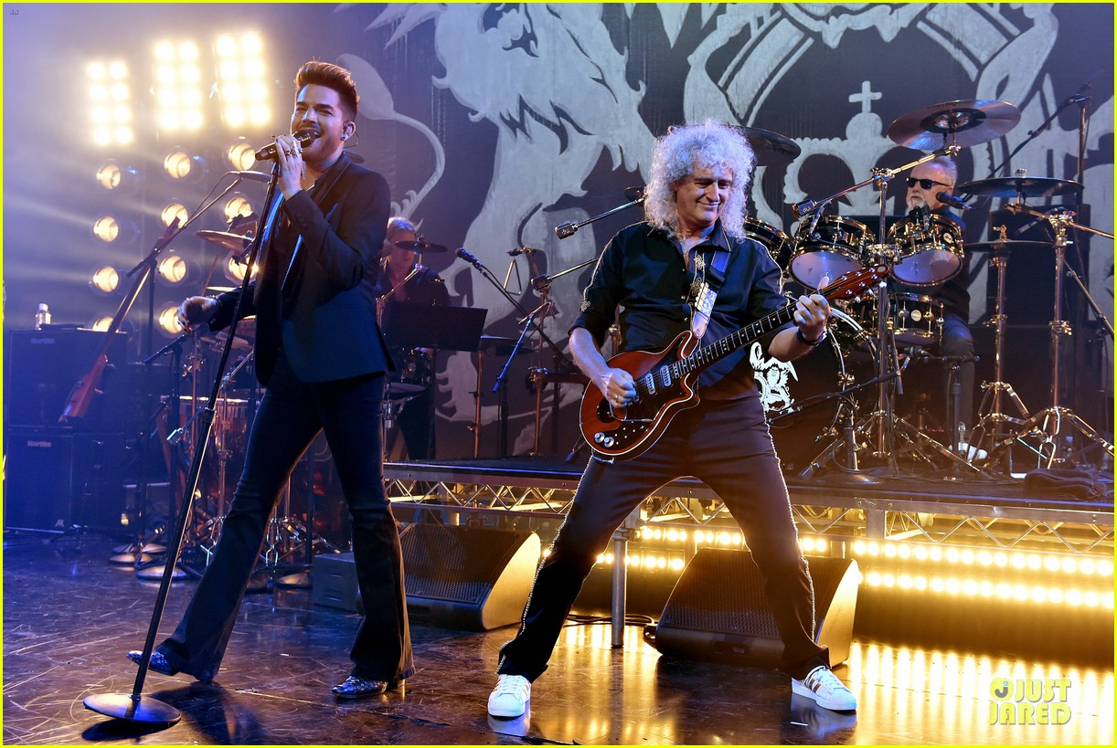 adam lambert queen tour at iheart radio theater 063136916