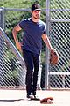 taylor lautner buff arms run the tide baseball pitch 21