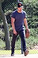 taylor lautner buff arms run the tide baseball pitch 26
