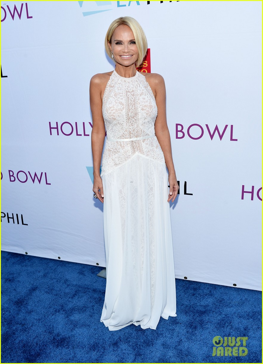 lea michele kristin chenoweth hollywood bowl hall fame 013141153