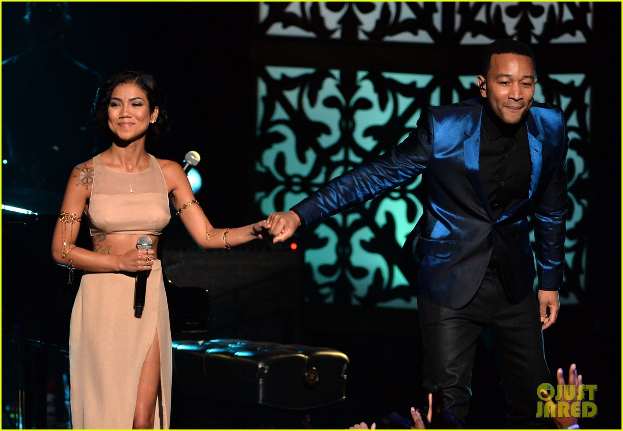 john legend jhene aiko bet awards 2014 12