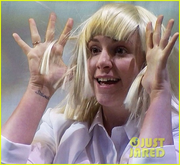 lena dunham performs interpretive dance to sias chandelier watch now 03