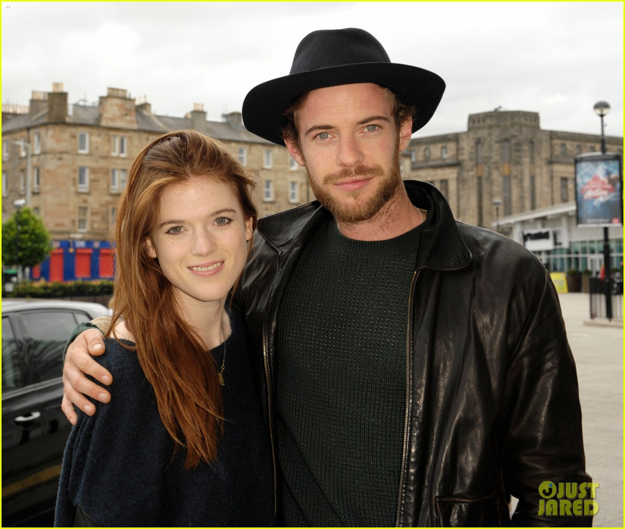 rose leslie harry treadaway honeymoon edinburgh 02