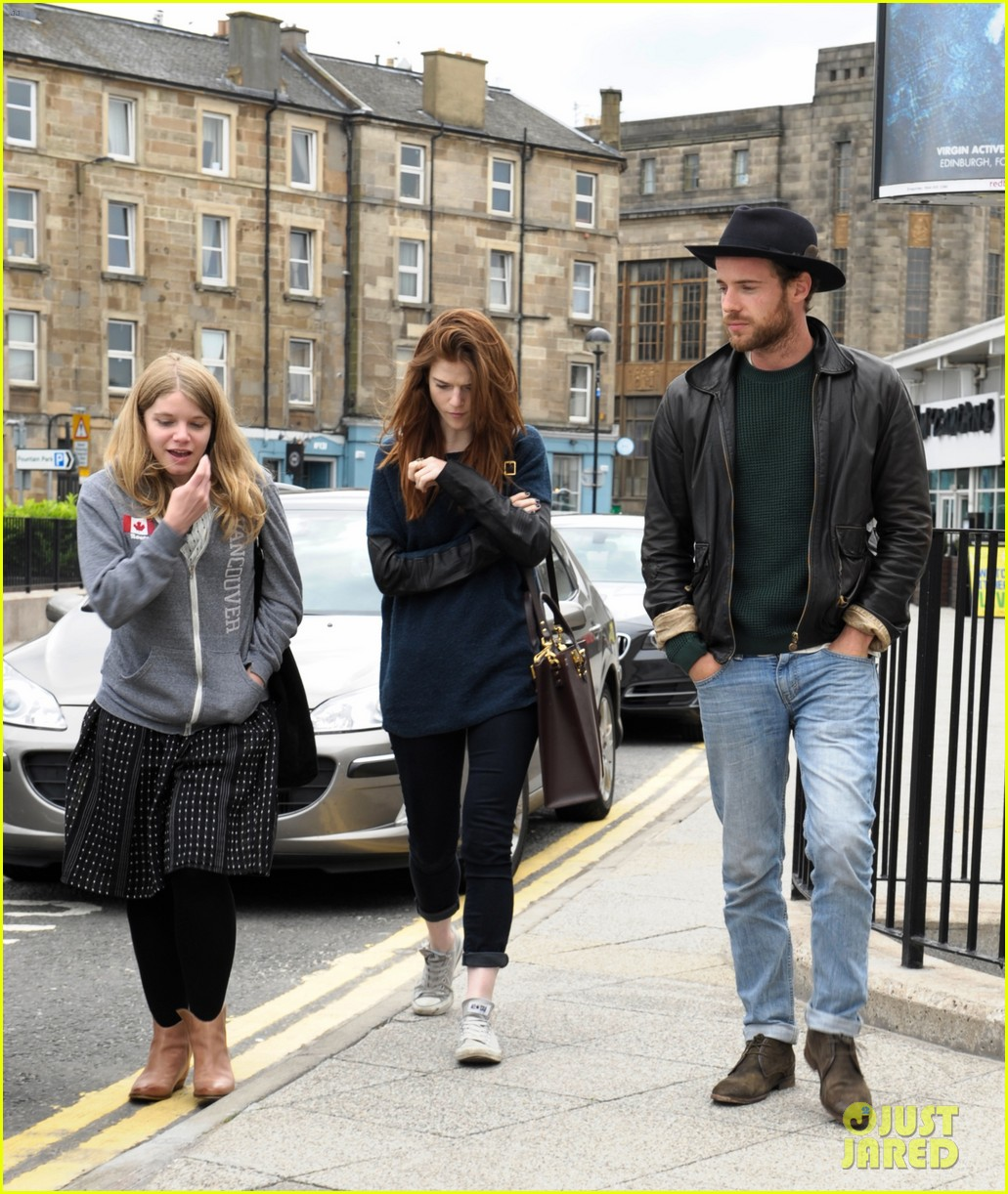 rose leslie harry treadaway honeymoon edinburgh 073145762