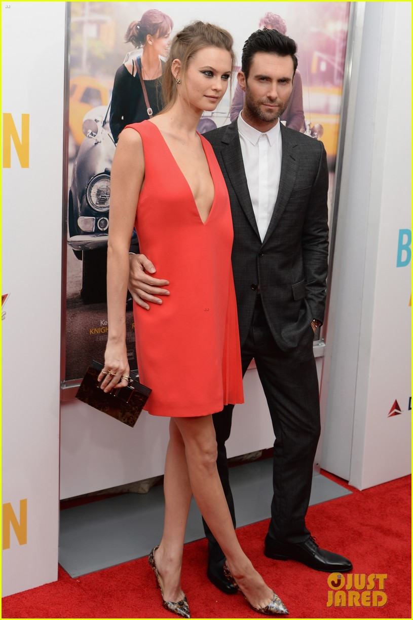 adam levine behati prinsloo begin again new york premiere 01