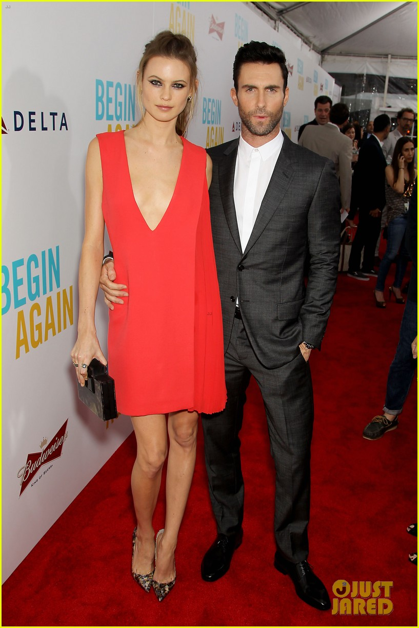 adam levine behati prinsloo begin again new york premiere 13