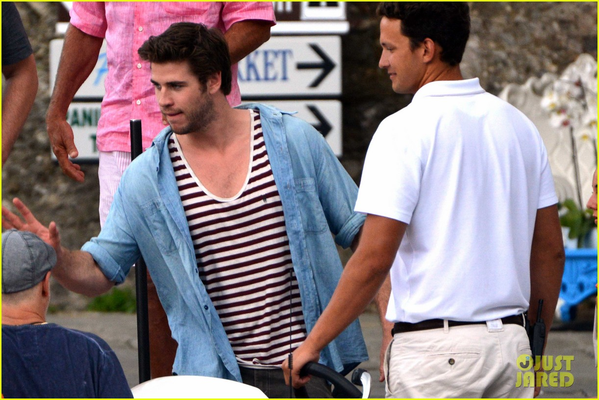 liam hemsworth takes a vacation in portofino 243144861
