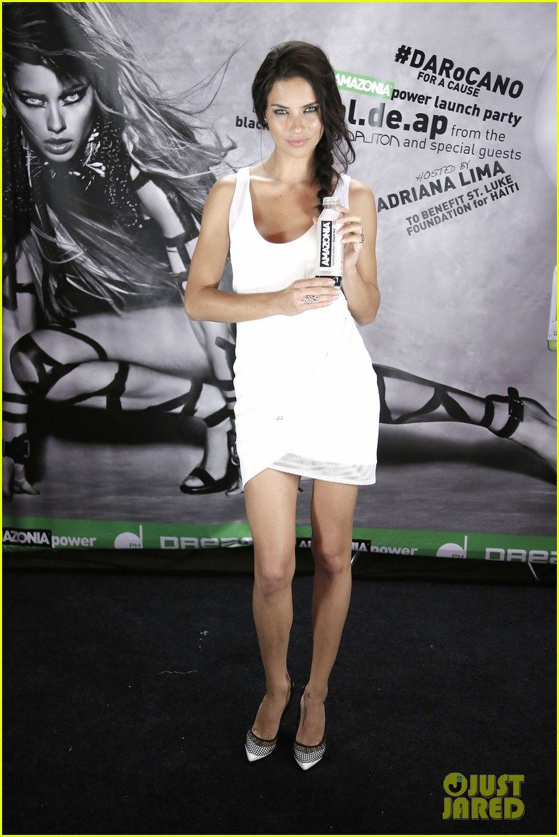 adriana lima becomes a glamazon for amazonia beverages 053125710