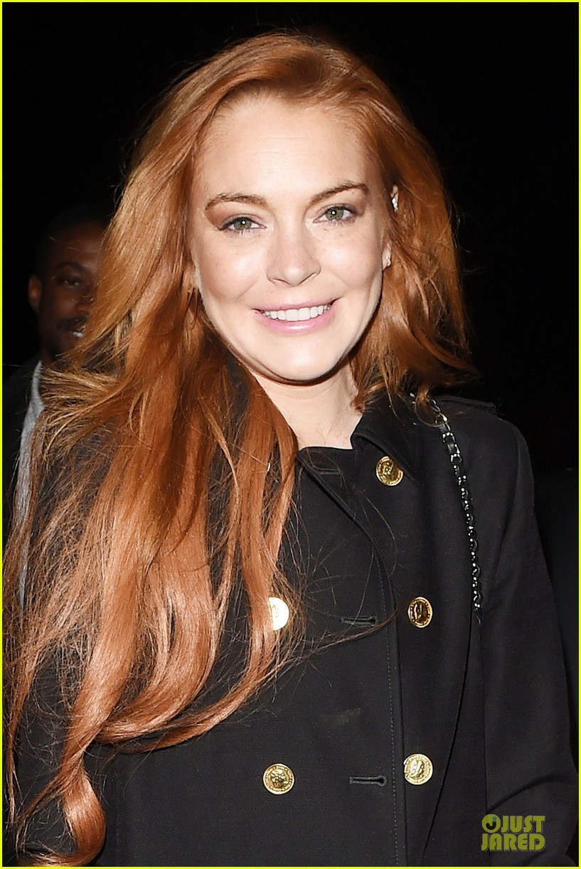 lindsay lohan change it up for dinner 073132771