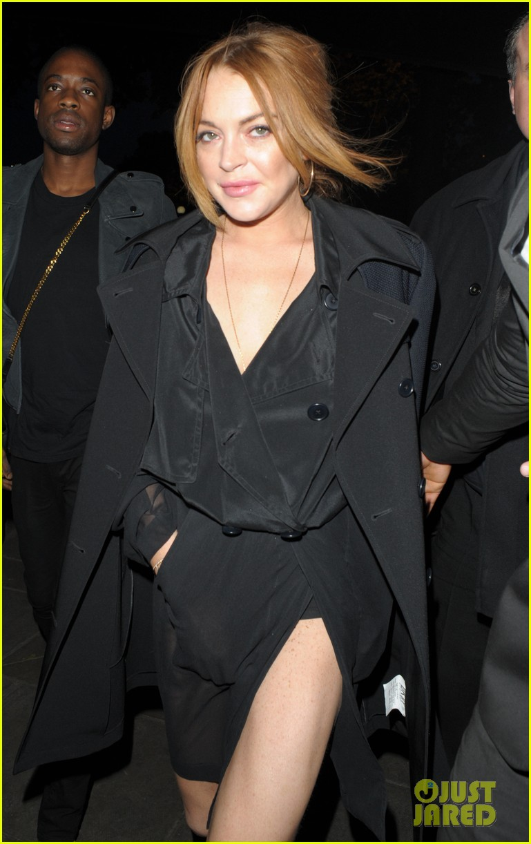 lindsay lohan party london 03