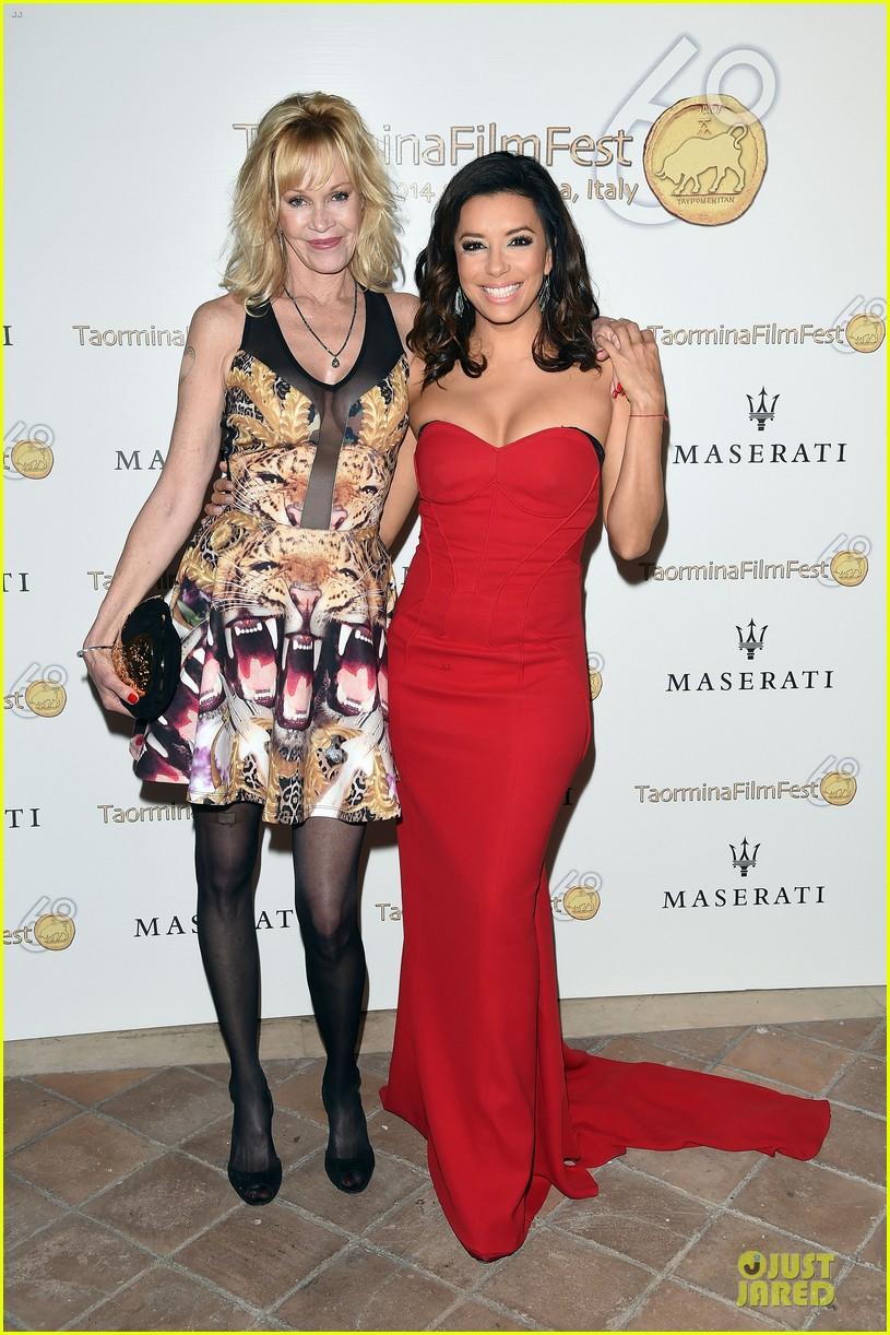 eva longoria melanie griffith at taormina film fest 013137800