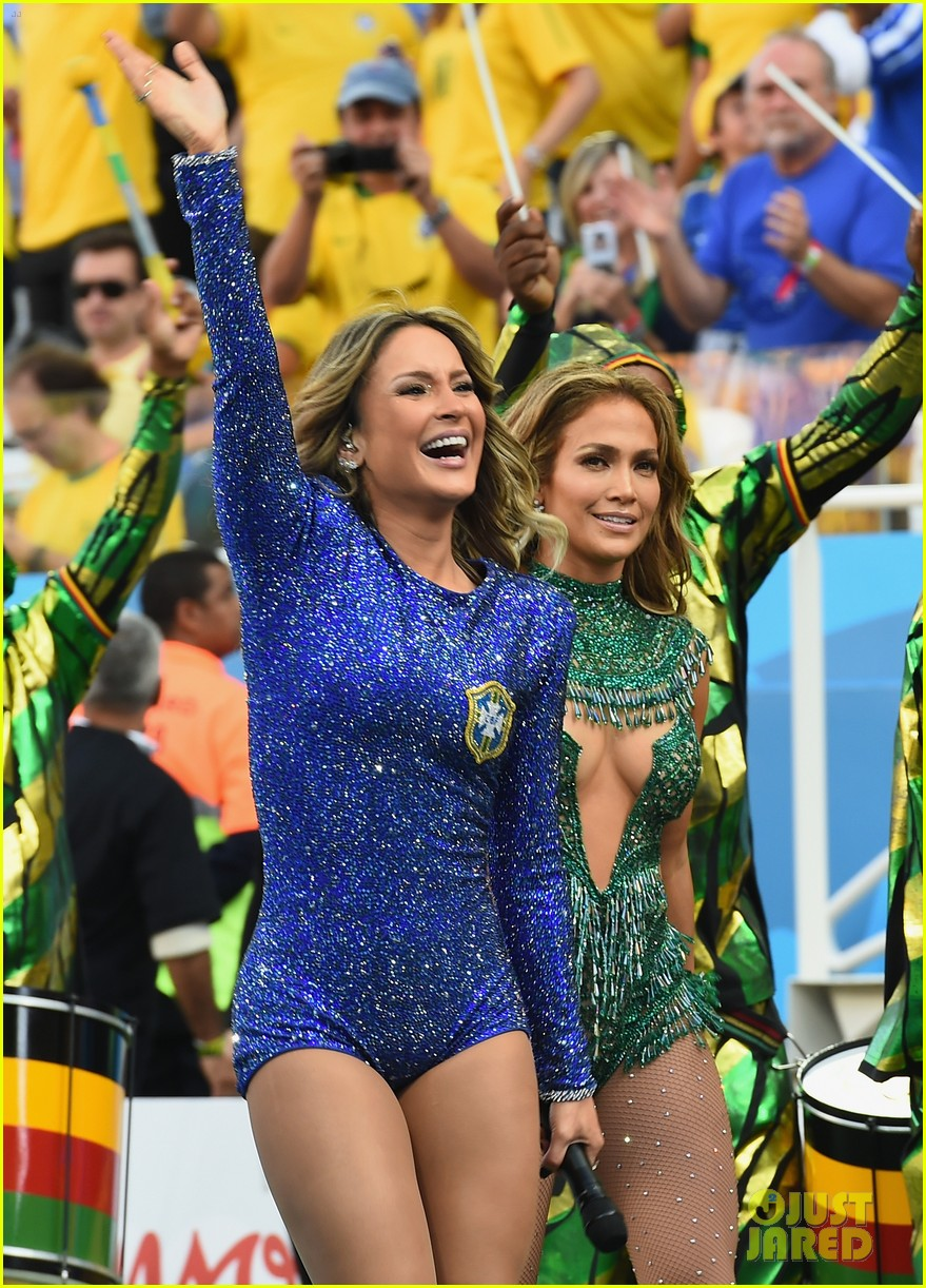jennifer lopez performs at world cup 2014 opening ceremony with pitbull claudia leitte 023134060