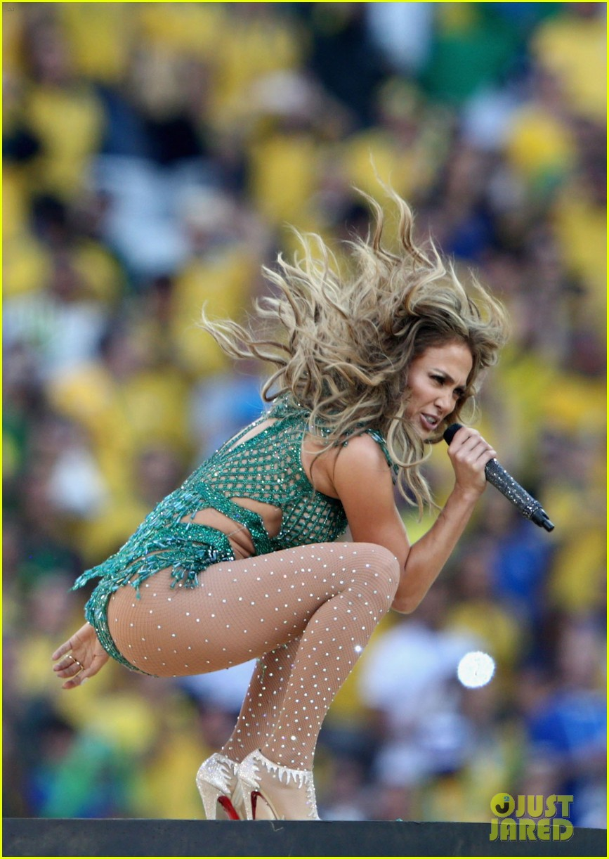 jennifer lopez performs at world cup 2014 opening ceremony with pitbull claudia leitte 103134068