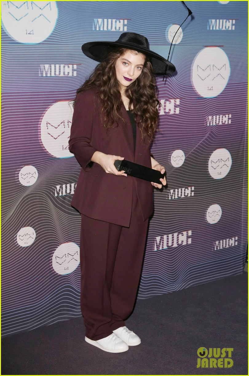 lorde muchmusic video awards 2014 01