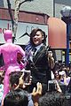 demi lovato really dont care music video shoot la pride 2014 01